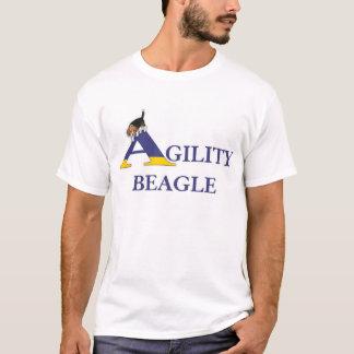 Beagle de la agilidad camiseta
