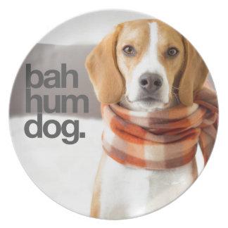 Beagle del perro del ronquido de Bah Platos De Comidas