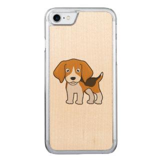 Beagle lindo funda para iPhone 7 de carved