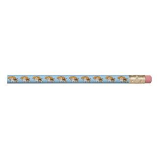 Beagle lindo lápiz