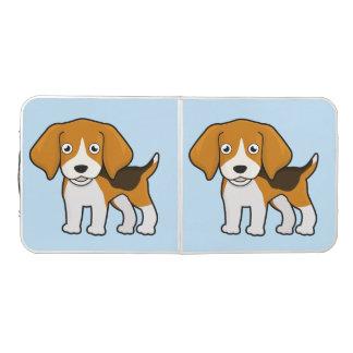 Beagle lindo mesa de pong