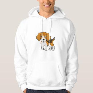 Beagle lindo sudadera