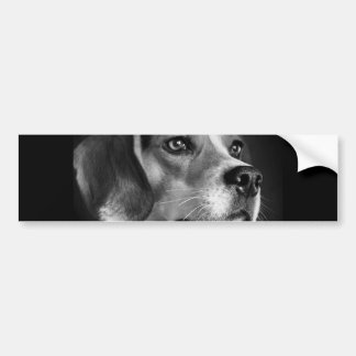 Beagle Pegatina De Parachoque