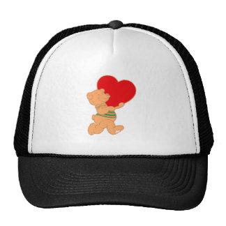 Bear osito de peluche corazón teddy heart gorras de camionero