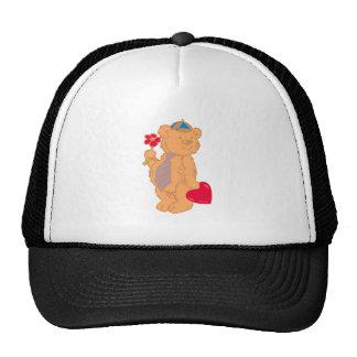 Bear osito de peluche corazón teddy heart gorros