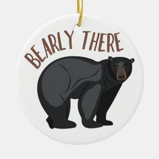 Bearly allí adorno de cerámica