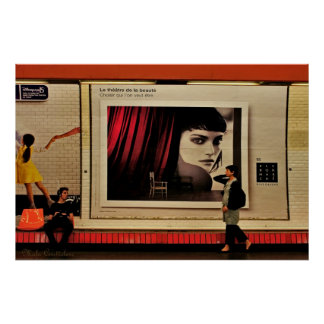 Beaute - poster de París de la belleza