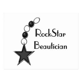 Beautician de la estrella del rock postal
