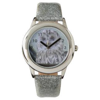 Beautiful Watching Owl Reloj