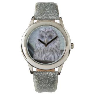 Beautiful Watching Owl Reloj De Pulsera