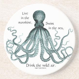 Beba el práctico de costa salvaje del aire apoyavasos