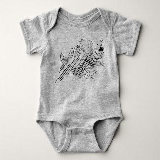 bebé afortunado body para bebé