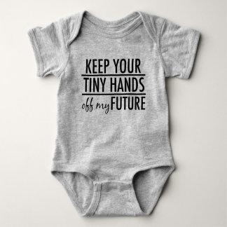 Bebé anti divertido del triunfo body para bebé