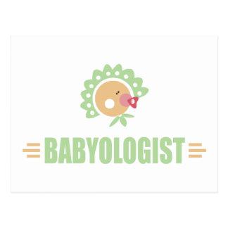 Bebé chistoso postales