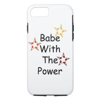 Bebé con el poder, caja del teléfono funda iPhone 7