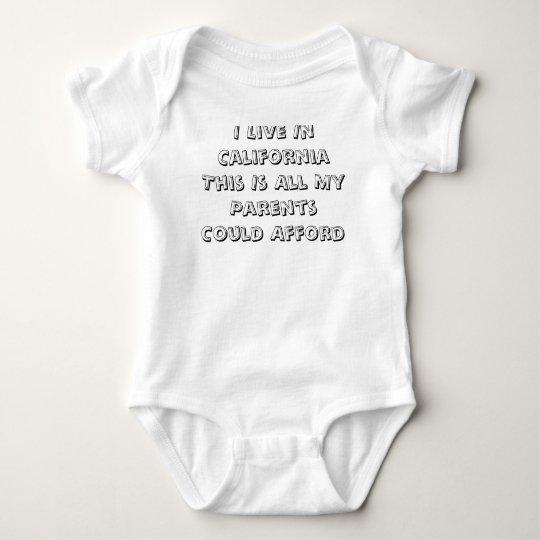 Bebé de California Body Para Bebé