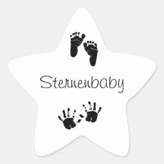 Bebé de estrella pegatina