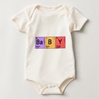 Bebé de la química body para bebé