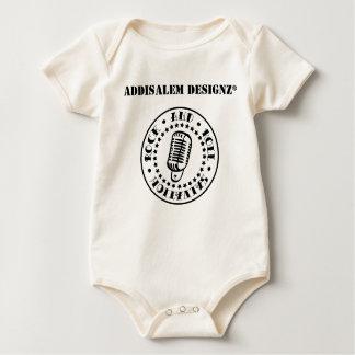 Bebé de la salvación del rock-and-roll pelele