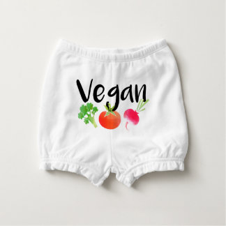 """Bebé de los veggies del """"vegano"""" cubrepañal"""