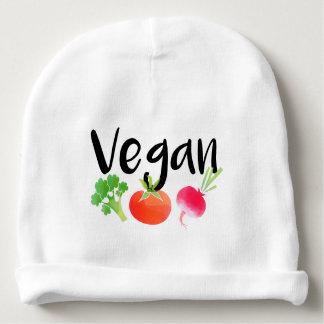 """Bebé de los veggies del """"vegano"""" gorrito para bebe"""