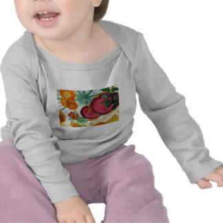 ¡Bebé de Vegas! Manga larga infantil Camisetas