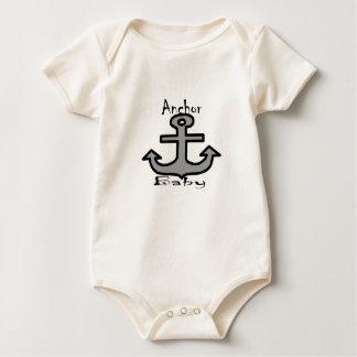 Bebé del ancla body para bebé