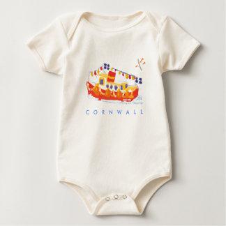 Bebé del arte: Transbordador de Falmouth, Body Para Bebé