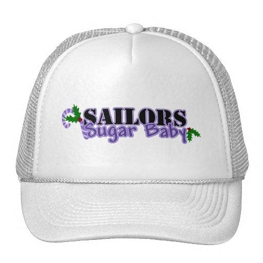Bebé del azúcar de los marineros gorras de camionero