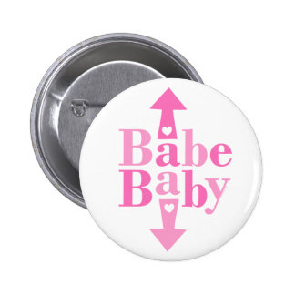 Bebé del bebé chapa redonda 5 cm