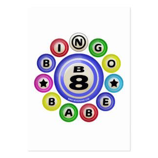 Bebé del bingo B8 Plantillas De Tarjeta De Negocio