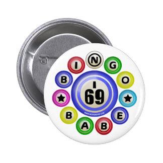 Bebé del bingo I69 Chapa Redonda De 5 Cm