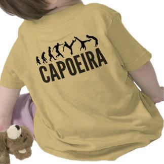 bebé del capoeira camiseta