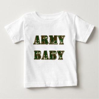 Bebé del ejército camiseta de bebé