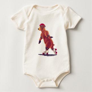 Bebé del oso del rodillo body para bebé