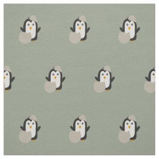 Bebé del pingüino telas