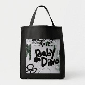 Bebé Dino Bolsa Tela Para La Compra