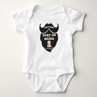 Bebé divertido del día de padre en mono de la body para bebé