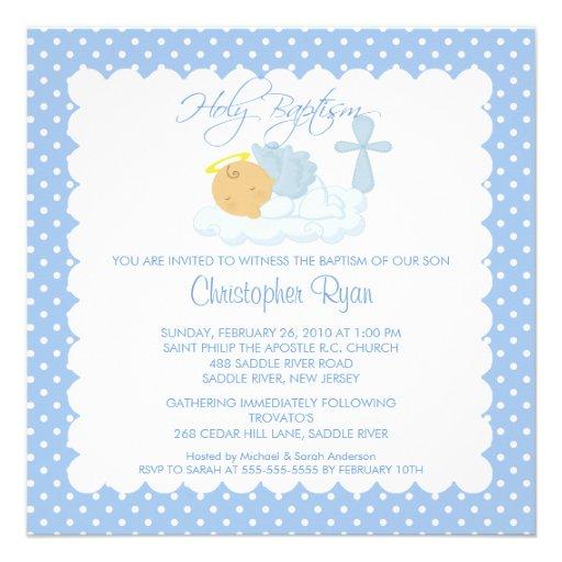 Tarjetas de bautizo para editar niño - Imagui
