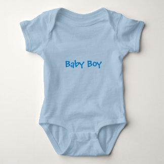 Bebé en azul body de bebé