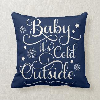 Cojín Decorativo Bebé es almohada de tiro fría del día de fiesta