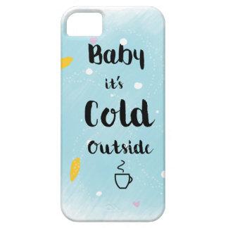 Bebé es exterior frío funda para iPhone SE/5/5s