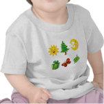 Bebé feliz camiseta