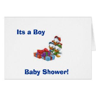 ¡bebé, fiesta de bienvenida al bebé! , Su un mucha Tarjeta