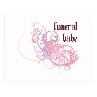 Bebé fúnebre postal