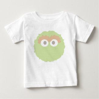 Bebé grande Óscar de la cara el Grouch Camiseta De Bebé