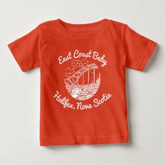 Bebé Halifax Nueva Escocia Canadá de la costa este Camiseta De Bebé