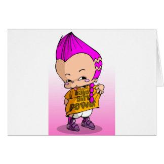 Bebé Hip Hop Lil Tarjetón