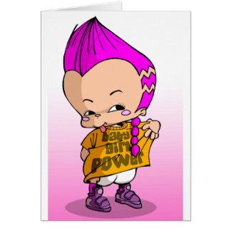Bebé Hip Hop Lil Tarjetas