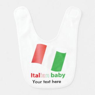 Bebé italiano baberos para bebé